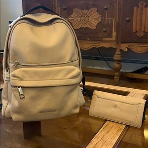 Authentic Marc Jacobs BUNDLE Backpack & Wallet